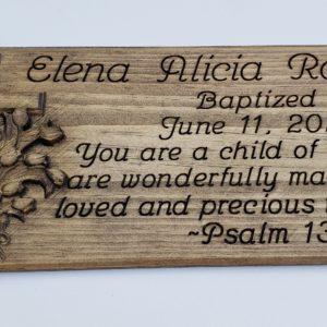 Baptism Sign